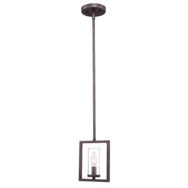 Marco Mini Pendant by Golden Lighting | 6068-M1L GMT