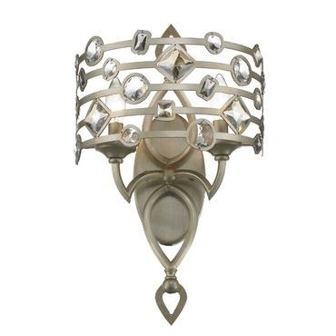 Coronada Wall Sconce by Golden Lighting | 6390-WSC WG