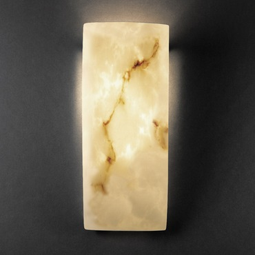 Lumenaria Rectangular ADA Wall Sconce by Justice Design | FAL-5135
