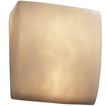 Clouds ADA Square Wall Sconce  by Justice Design | CLD-5120