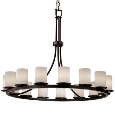 Dakota 15 Light Single Tier Chandelier