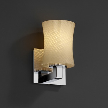 Modular Hourglass Fusion Wall Sconce