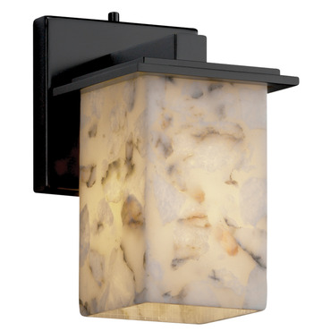 Montana Square Flat Rim Wall Sconce