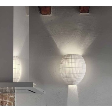 Tessuti Dome Wall Sconce by Masiero | DOME A1 W