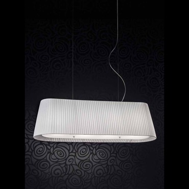 Tessuti Linear Suspension  by Masiero | OVAL S4 120 W