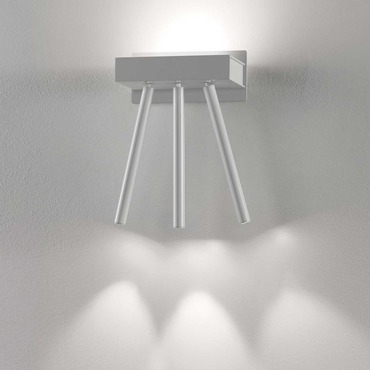 Virtus 3-Light Adjustable Wall Lamp