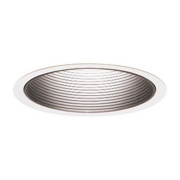 Lytecaster 1179WH 6.75 Inch Basic Baffle Downlight Trim