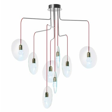 Oda LED Multi-Light Pendant