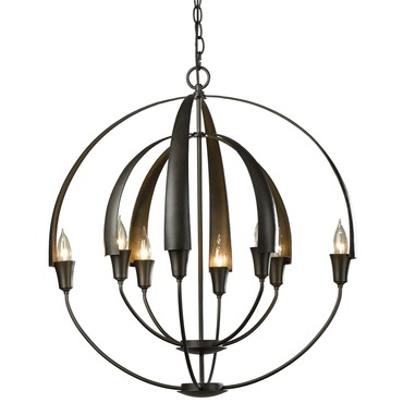 Cirque Large Chandelier by Hubbardton Forge | 104205-07-NO