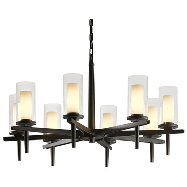Constellation Chandelier by Hubbardton Forge | 104305-07-ZU323