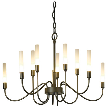 Lisse 10 Arm Chandelier by Hubbardton Forge | 106030-07-NO