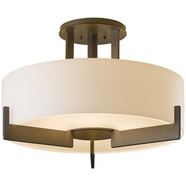 Axis Semi Flush Ceiling Light by Hubbardton Forge | 126403-07-G216