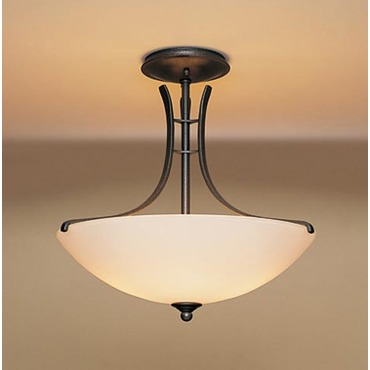 Presidio Semi Flush Mount by Hubbardton Forge | 126432-07-G52