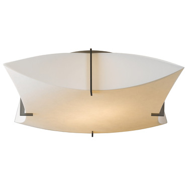 Bento Semi Flush Ceiling Light by Hubbardton Forge | 126620-07-700