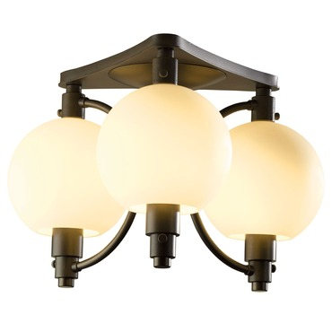 Pluto Semi Flush Mount by Hubbardton Forge | 128703-07-G436