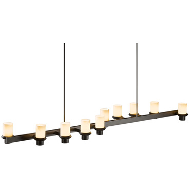 Staccato 10 Light Linear Adjustable Pendant