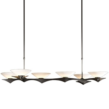 Moreau Glass Linear Adjustable Pendant