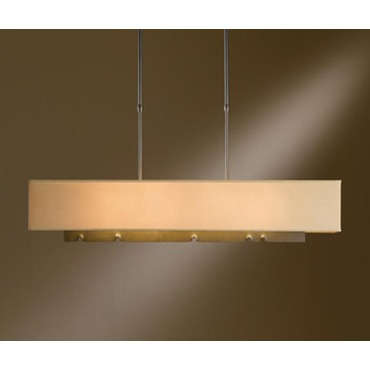 Fullered Notch Linear Adjustable Pendant