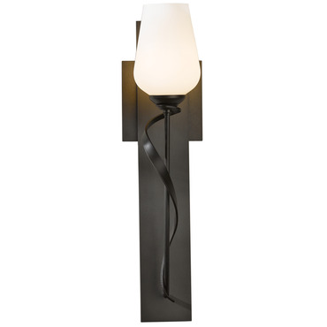 Flora 030 Wall Sconce by Hubbardton Forge | 203030-07-G303