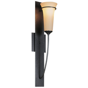 Banded 206 Wall Light by Hubbardton Forge | 206251-07-G68