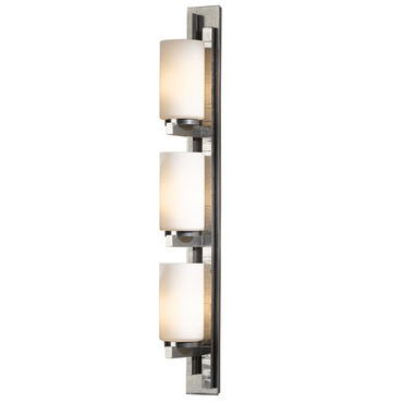 Ondrian 315 Left Bath Bar Vintage Platinum by Hubbardton Forge | 206315L-82-G168