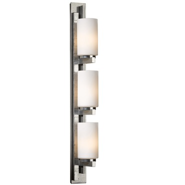Ondrian 315 Right Bath Bar Vintage Platinum by Hubbardton Forge | 206315R-82-G168
