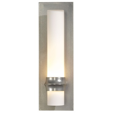 Rook 207815 Wall Light Vintage Platinum by Hubbardton Forge | 207815-82-G321