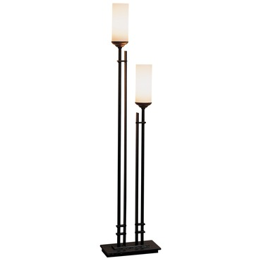 Metra Twin Table Lamp by Hubbardton Forge | 268413-07-G63