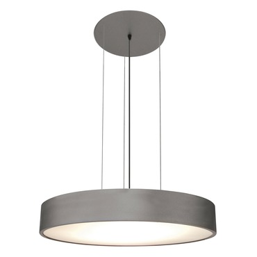 Vega Round Suspension by Edge Lighting | vega-rd-h1-si