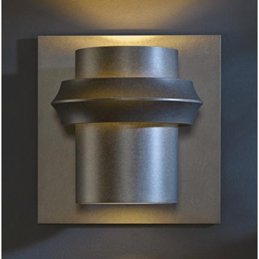 Twilight Outdoor Incandescent Wall Sconce by Hubbardton Forge | 304905-07-CTO