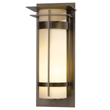 Banded Double Outdoor Wall Sconce