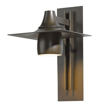 Hood 567 Dark Sky Outdoor Wall Sconce by Hubbardton Forge | 306567-05-CTO
