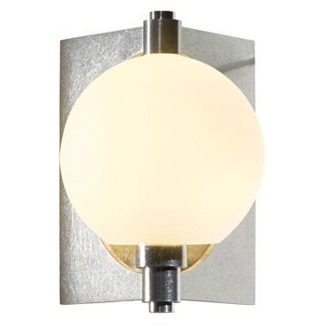 Pluto Outdoor Wall Sconce by Hubbardton Forge | 306603-07-G384