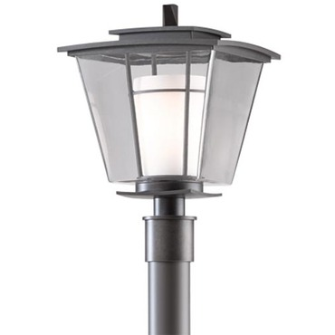 Beacon Hall Outdoor Post Light by Hubbardton Forge | 344820-07-ZU287