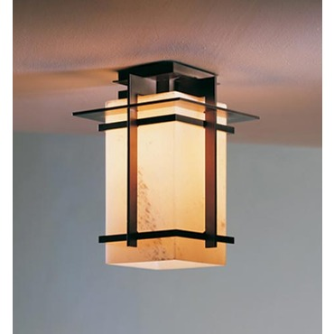 Tourou Outdoor Flush Mount by Hubbardton Forge | 356005-07-G93