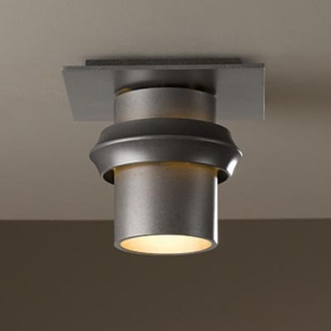 Twilight Outdoor Halogen Flush Mount by Hubbardton Forge | 364901-07-CTO