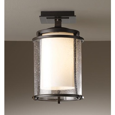 Meridian Outdoor Semi Flush Mount by Hubbardton Forge | 365605-07-ZS297