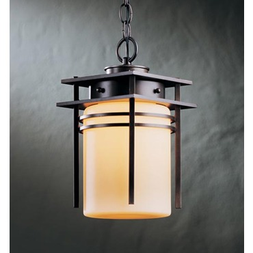 Banded Outdoor Semi Flush Mount