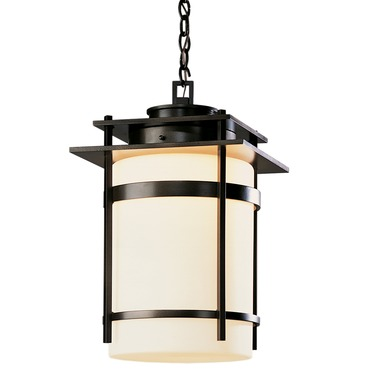 Banded Outdoor Pendant by Hubbardton Forge | 365894-10-G148