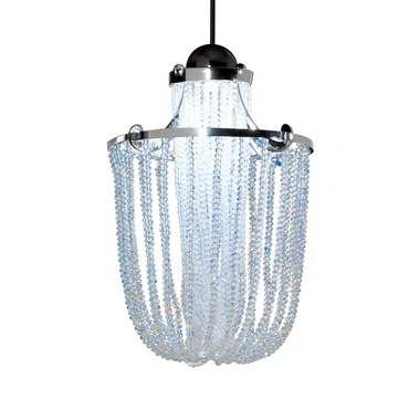 QP Cascade Jewelry LED Pendant by WAC Lighting | QP-LED332-CL/CH