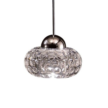QP Gem Cosmopolitan LED Pendant by WAC Lighting | QP-LED334-CL/CH