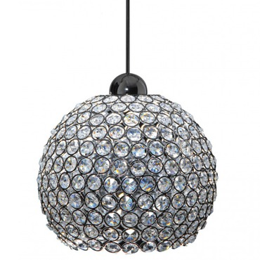 QP Roxy Cosmopolitan LED Pendant by WAC Lighting | QP-LED335-CL/CH
