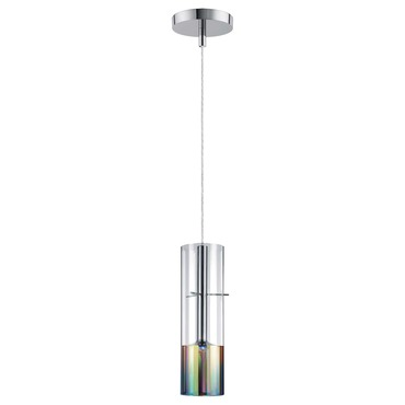 Tubular 1-Light Pendant