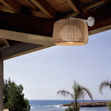Fora Outdoor Wall Lamp by Bover | 1130301U+P-695C