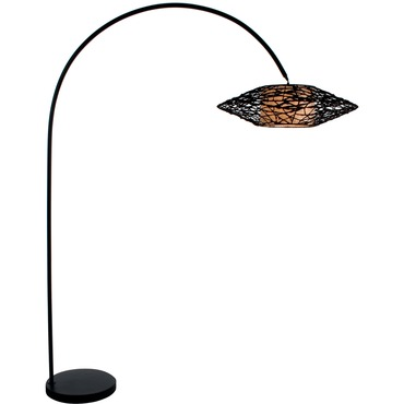 C-U C-ME Arc Floor Lamp
