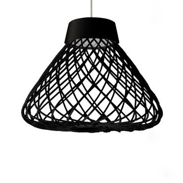 Twine Tall Pendant by Hive | HLTN-BK-BL-2217