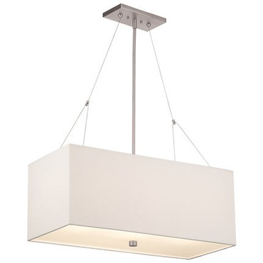Alexis Rectangle Pendant by Philips Consumer Lighting | F44336