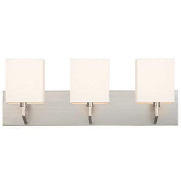 Fisher Island Square 3 Light Bath Bar