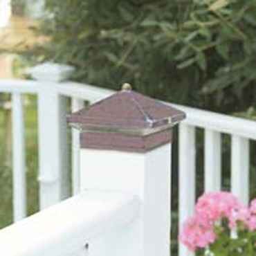 Copper Decklyte Post Top  by Hadco | GADL4-AC