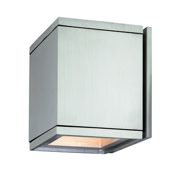 Cube Outdoor Wall Sconce by CSL | ss1013-sa
